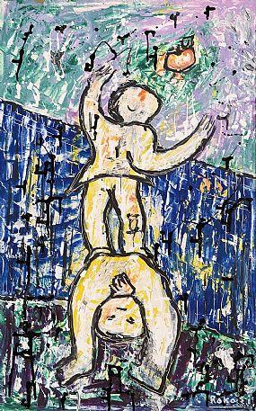 Basil Ivan Rakoczi (1908-1979), Apple Pickers at Morgan O'Driscoll Art Auctions