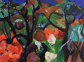Kenneth Webb RWA FRSA RUA (b.1927), Blackthorn and Flowers at Morgan O'Driscoll Art Auctions