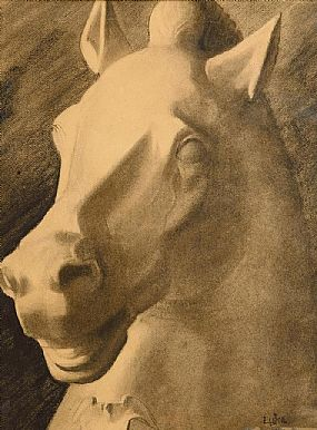 John Luke RUA (1906-1975), Classical Horse Study at Morgan O'Driscoll Art Auctions