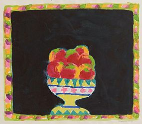 Neil Shawcross RHA RUA (b.1940), Still Life, Bowl of Fruit at Morgan O'Driscoll Art Auctions