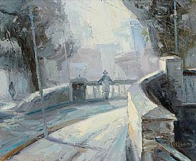 Stuart Williams (b.1973), Talbot Street Bridge at Morgan O'Driscoll Art Auctions