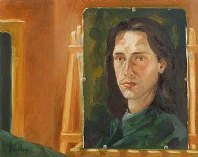 Ken Hamilton (b.1956), Self-Portrait at Morgan O'Driscoll Art Auctions