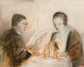 May Guiness (1836-1955), At The Table at Morgan O'Driscoll Art Auctions