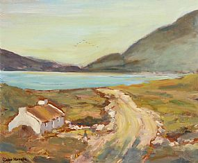 Gladys MacCabe ROI FRSA MA HRUA (1918-2018), Glencolumbkille at Morgan O'Driscoll Art Auctions