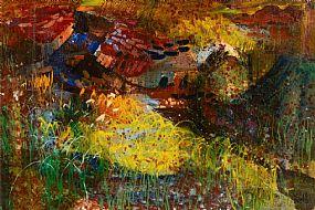 Kenneth Webb RWA FRSA RUA (b.1927), Connemara Garden at Morgan O'Driscoll Art Auctions