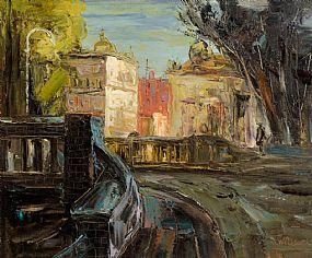 Stuart Williams (b.1973), Mount Street, Dublin at Morgan O'Driscoll Art Auctions