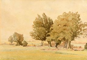 Richard Caulfield Orpen RHA (1863-1938), September Morning: Carrickmines Golf Links at Morgan O'Driscoll Art Auctions