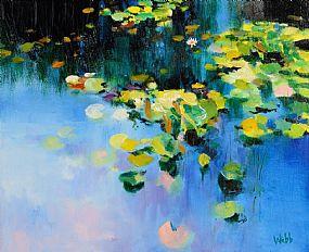 Kenneth Webb RWA FRSA RUA (b.1927), The Lilly Pond at Morgan O'Driscoll Art Auctions