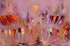 Carol Ann Waldron (b.1948), On a Sunny Sunday Morning at Morgan O'Driscoll Art Auctions