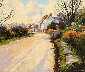 Denis Orme Shaw (b.1944), Manse Road, Cloughey, Ards Peninsula at Morgan O'Driscoll Art Auctions