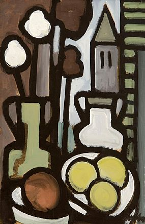 Markey Robinson (1918-1999), View from the Window at Morgan O'Driscoll Art Auctions