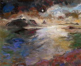 David Clarke (b.1920), Stormy Seas at Morgan O'Driscoll Art Auctions