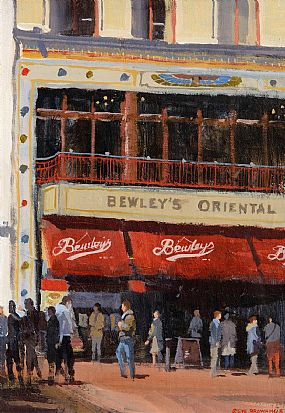 Stephen Browning (20th/21st Century), Bewleys at Morgan O'Driscoll Art Auctions