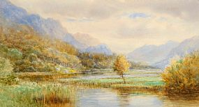 Alexander Williams RHA (1846-1930), Salmon Pool from the Bridge, Kilmore, Connemara at Morgan O'Driscoll Art Auctions