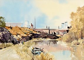 George William Morrison (20th Century), Lagan Near Stranmillis at Morgan O'Driscoll Art Auctions