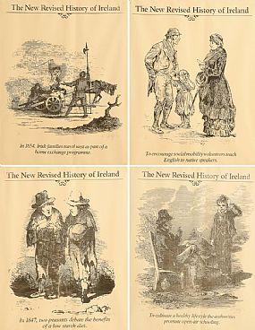Robert Ballagh (b.1943), The New Revised History of Ireland at Morgan O'Driscoll Art Auctions