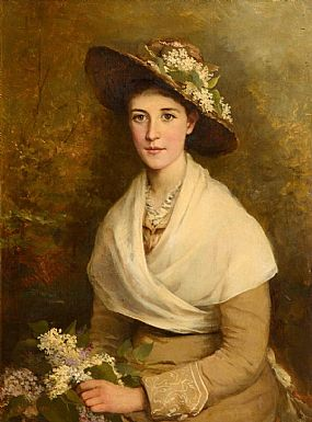 Miss Kate May (fl.1887-1893)British, Portrait of Lorna Doone at Morgan O'Driscoll Art Auctions