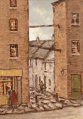 Tom Cullen (1934-2001), Copper Alley Off Lord Edward St, Dublin at Morgan O'Driscoll Art Auctions