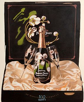 Steve Kaufman (1960-2010), Moet at Morgan O'Driscoll Art Auctions