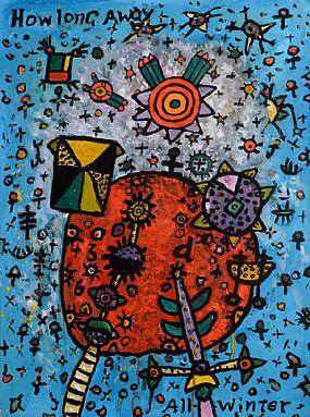 Alan Davie (b.1920) Scottish, How Long Away at Morgan O'Driscoll Art Auctions