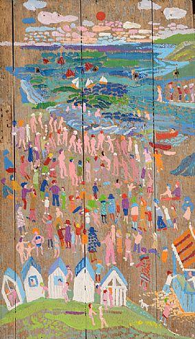 Fred Yeats (b.1922) British, Peinture Sur Panneau, La Mere at Morgan O'Driscoll Art Auctions