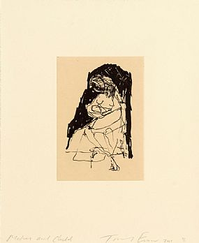 Tracey Emin (b.1963) British, Mother & Child at Morgan O'Driscoll Art Auctions