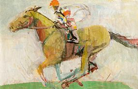 Joseph O'Connor (20th/21st Century), Horse and Jockey, 1991 at Morgan O'Driscoll Art Auctions