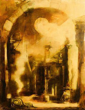Martin Mooney (b.1960), Interior of a Spanish Cathedral at Morgan O'Driscoll Art Auctions