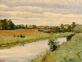 Charles Vincent Lamb RHA RUA (1893-1965), The River Bann at Morgan O'Driscoll Art Auctions