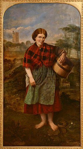 Charles Henry Cook (1830-1906), Little Peggy at Morgan O'Driscoll Art Auctions