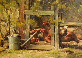 Mark O'Neill (b.1963), The Chicken Coup at Morgan O'Driscoll Art Auctions