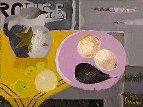 Mary Fedden RA (1915-2012) British, Still Life With Jug at Morgan O'Driscoll Art Auctions