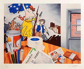Robert Ballagh (b.1943), Independence at Morgan O'Driscoll Art Auctions