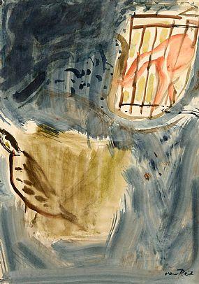 Nano Reid RHA (1905-1981), Horse at the Gate at Morgan O'Driscoll Art Auctions