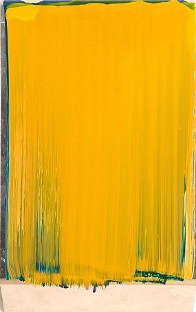 Ciaran Lennon (b.1947), Yellow on Green on Blue Lens at Morgan O'Driscoll Art Auctions
