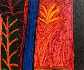 William Crozier HRHA (1930-2011), Night Garden 2007 at Morgan O'Driscoll Art Auctions