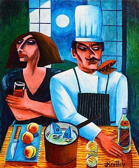 Graham Knuttel (b.1954), Head Chef at Morgan O'Driscoll Art Auctions