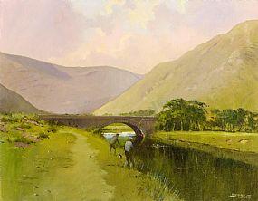 Padraig Lynch (b.1936), Fishing on the Delphi, 2007 at Morgan O'Driscoll Art Auctions