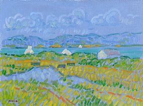 Desmond Carrick RHA (b.1928), Midsummer at Ballyconneely, Co. Galway at Morgan O'Driscoll Art Auctions