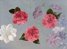 Desmond Courtney Kenny (fl.1930-1958), Floral Study at Morgan O'Driscoll Art Auctions