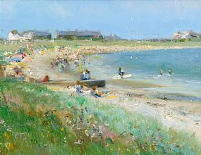 Paul Kelly (20th Century) British, Summer's Day at Morgan O'Driscoll Art Auctions