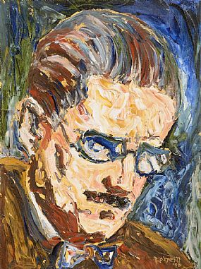Liam O'Neill (b.1954), James Joyce at Morgan O'Driscoll Art Auctions
