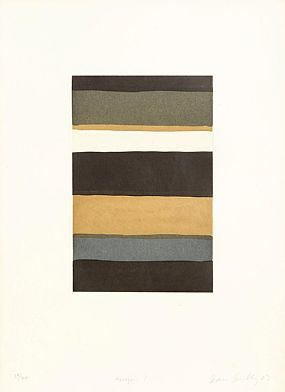 Sean Scully (b.1945), Horizon I at Morgan O'Driscoll Art Auctions