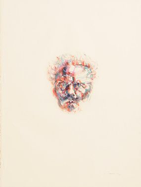 Louis Le Brocquy HRHA (1916-2012), August Strindberg at Morgan O'Driscoll Art Auctions