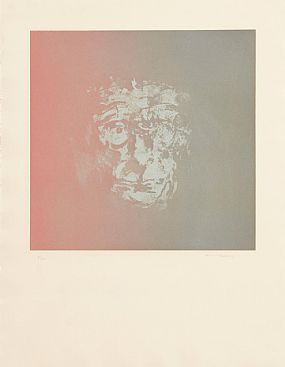 Louis Le Brocquy HRHA (1916-2012), Samuel Beckett at Morgan O'Driscoll Art Auctions