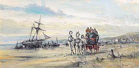 Gordon King (b.1939) British, Homeward Bound at Morgan O'Driscoll Art Auctions