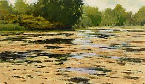 Trevor Geoghegan (b.1946), River Landscape at Morgan O'Driscoll Art Auctions