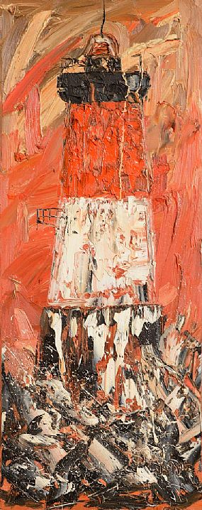 Michael Smyth (b.1961), The Lighthouse at Morgan O'Driscoll Art Auctions
