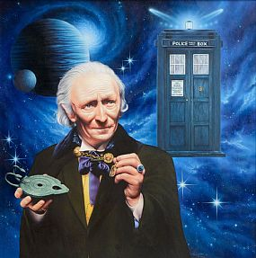 Colin Howard (b.1965) British, Doctor Who (William Hartnell) at Morgan O'Driscoll Art Auctions