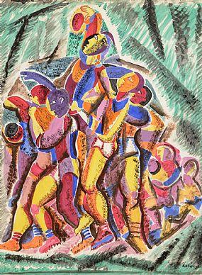 Basil Ivan Rakoczi (1908-1979), The Game at Morgan O'Driscoll Art Auctions